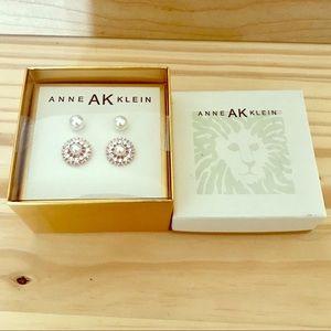 Anne Klein Pierced Pearls 2 Pairs Earring Gif Sets